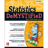 Demystified: Statistics Demystified, 2nd Edition (Edition 2) (Paperback)