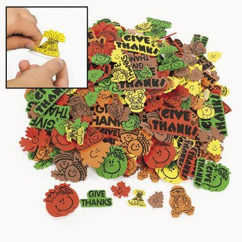 Fabulous Foam Self-Adhesive Fall Shapes - Art & Craft Supplies & Foam Shapes, By Oriental Trading Company (Oriental Art Supply)