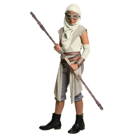 Star Wars 7 Rey Eye Mask with Hood Child Halloween Accessory - Halloween 7