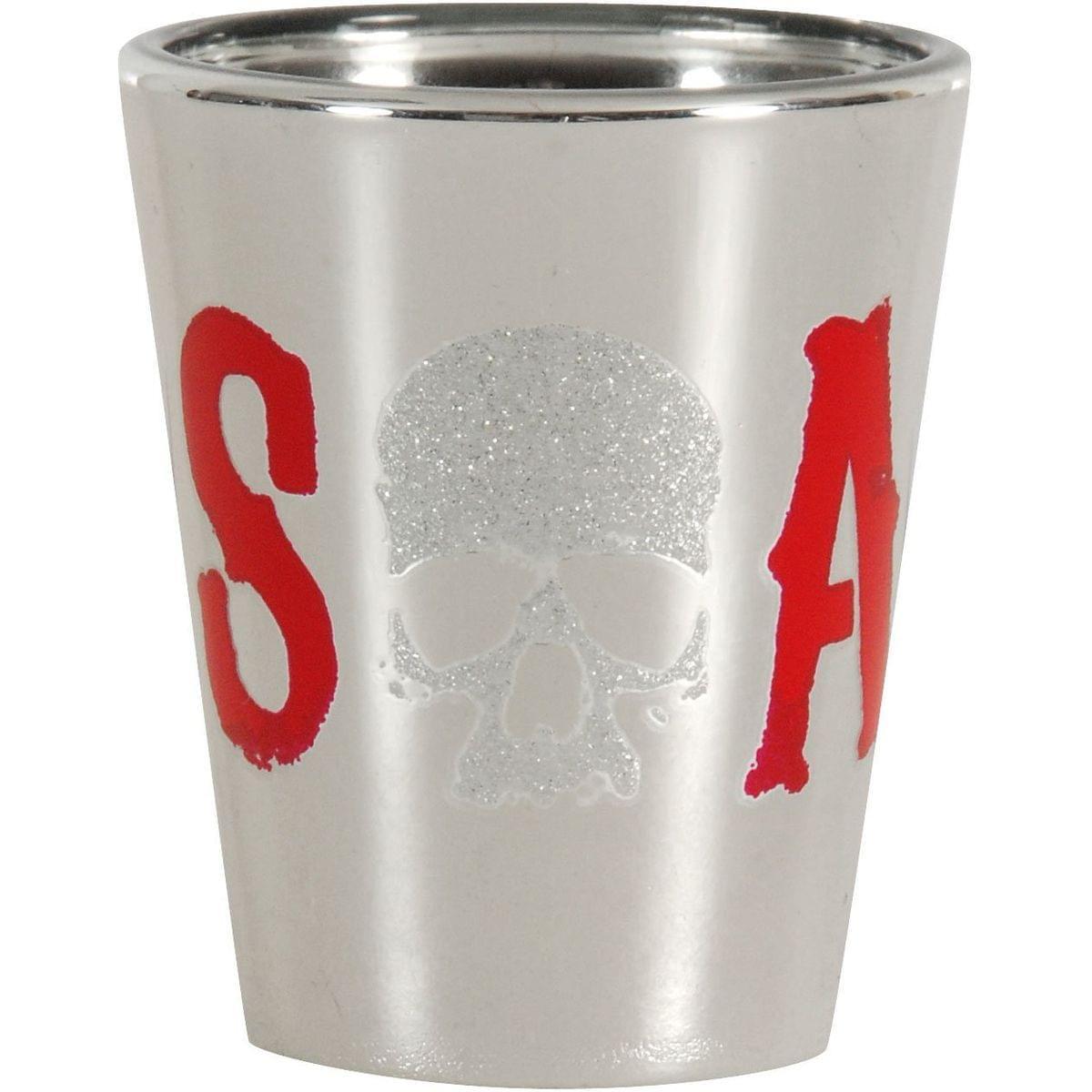 Sons of Anarchy Glitter Skull Logo Shot Glass - image 1 de 1