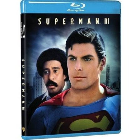 Superman Iii  Blu Ray   Digital Hd With Ultraviolet   With Instawatch   Walmart Exclusive