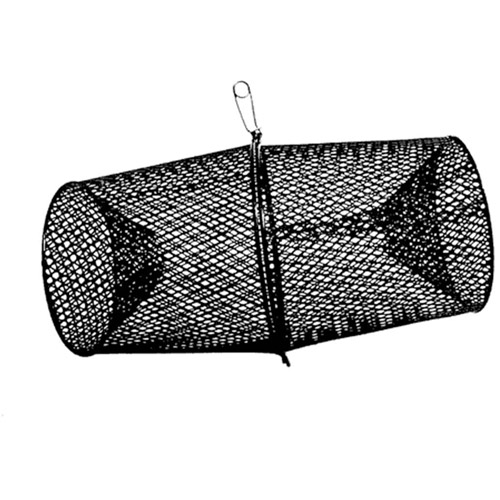 "Frabill Deluxe Vinyl Crawfish Trap, 16.9"" x 9"", 2 Piece Torpedo"
