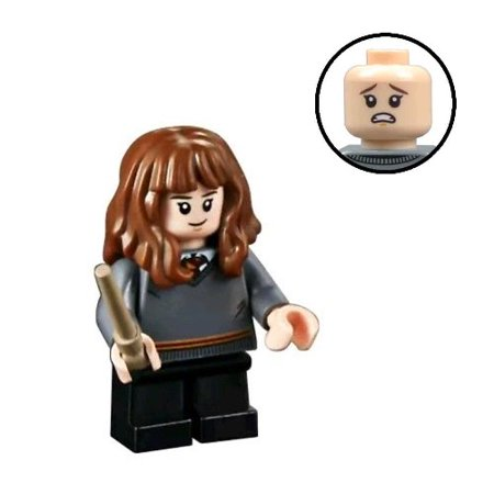 Brick Building Sets Original LEGO® Figure: Harry Potter Figure - Hermione Granger (w/ Wand)