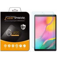 [2-Pack] Supershieldz for Samsung Galaxy Tab A 10.1 (2019) [SM-T510 Model Only] Tempered Glass Screen Protector, Anti-Scratch, Anti-Fingerprint, Bubble Free