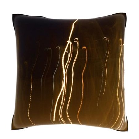 Velour Throw Pillows : Abstract Streaks of Light 18-inch Velour Throw Pillow - Walmart.com