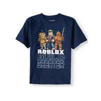 "Roblox ""Build Greater"" Short Sleeve Graphic T-Shirt (Little Boys & Big Boys)"