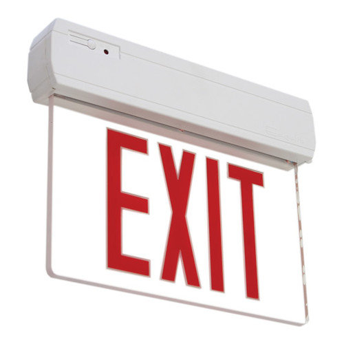 Deco Lighting Recessed Or Surface Edge Lit LED Exit Sign