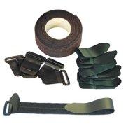 VELCRO BRAND Cinch Strap Kit,2in,Black 200RS