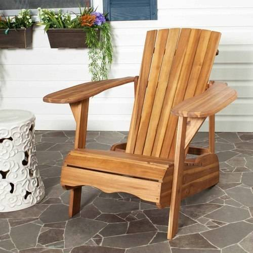 Safavieh Mopani Outdoor Adirondack Chair by Safavieh