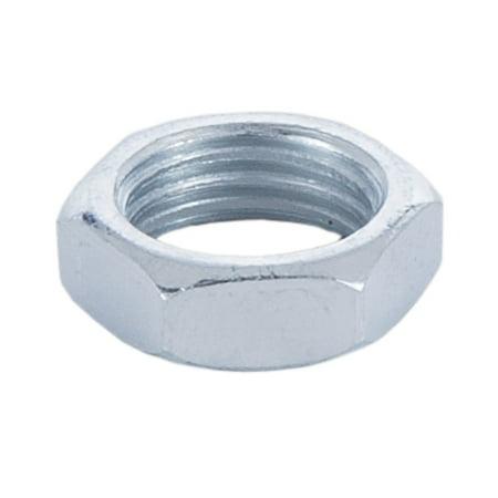 B&P Lamp® Zinc Plated 1/4F Heavy Steel Nut