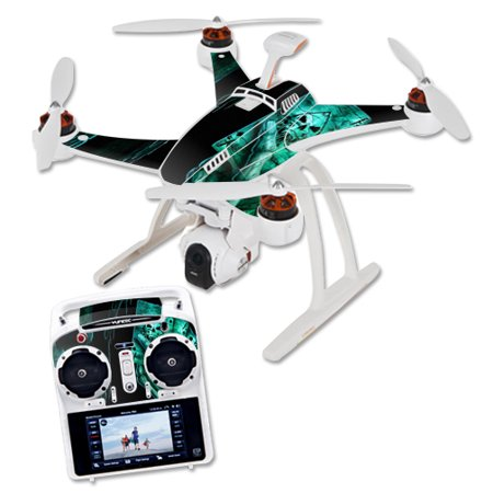 Skin Decal Wrap for Blade Chroma Quadcopter Drone Death