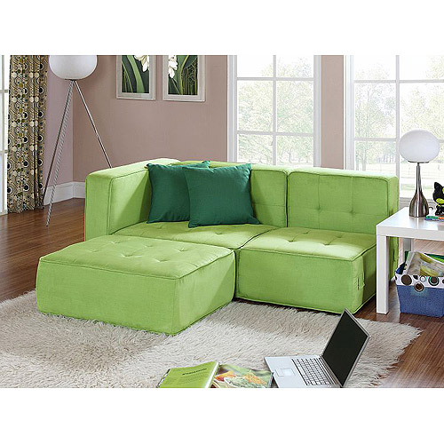 your zone loft collection comfy lounger, green glaze