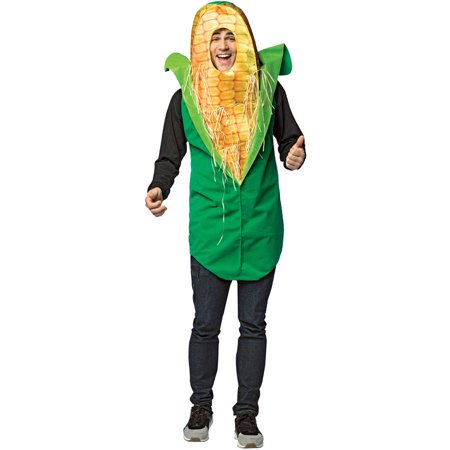 Corn On The Cob Adult Men's Adult Halloween - Corn Cob Costume