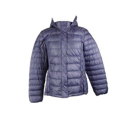 43c98835dd8 32 Degrees - 32 Degrees Plus Size Navy Packable Puffer Coat 1X ...