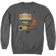 Back To The Future Items Mens Crewneck Sweatshirt
