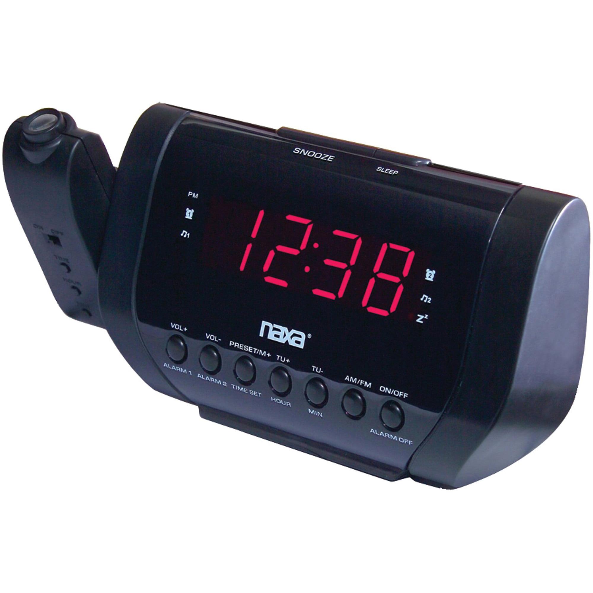 Naxa nrc 173 projection dual alarm clock walmart amipublicfo Gallery