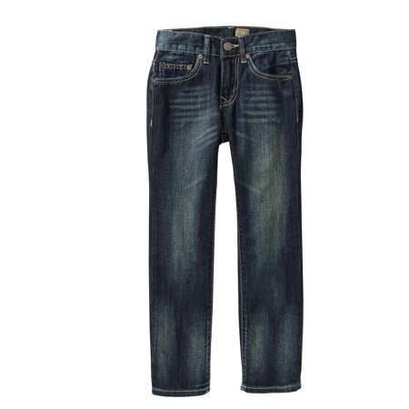 Tokyo Five Boys' Straight Leg Fashion Denim Dark Wash