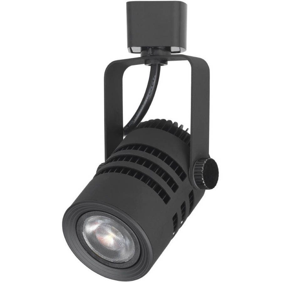 "Duracell 3.75"" Black LED Dimmable Track Light Spot Head by Jiawei Technology"