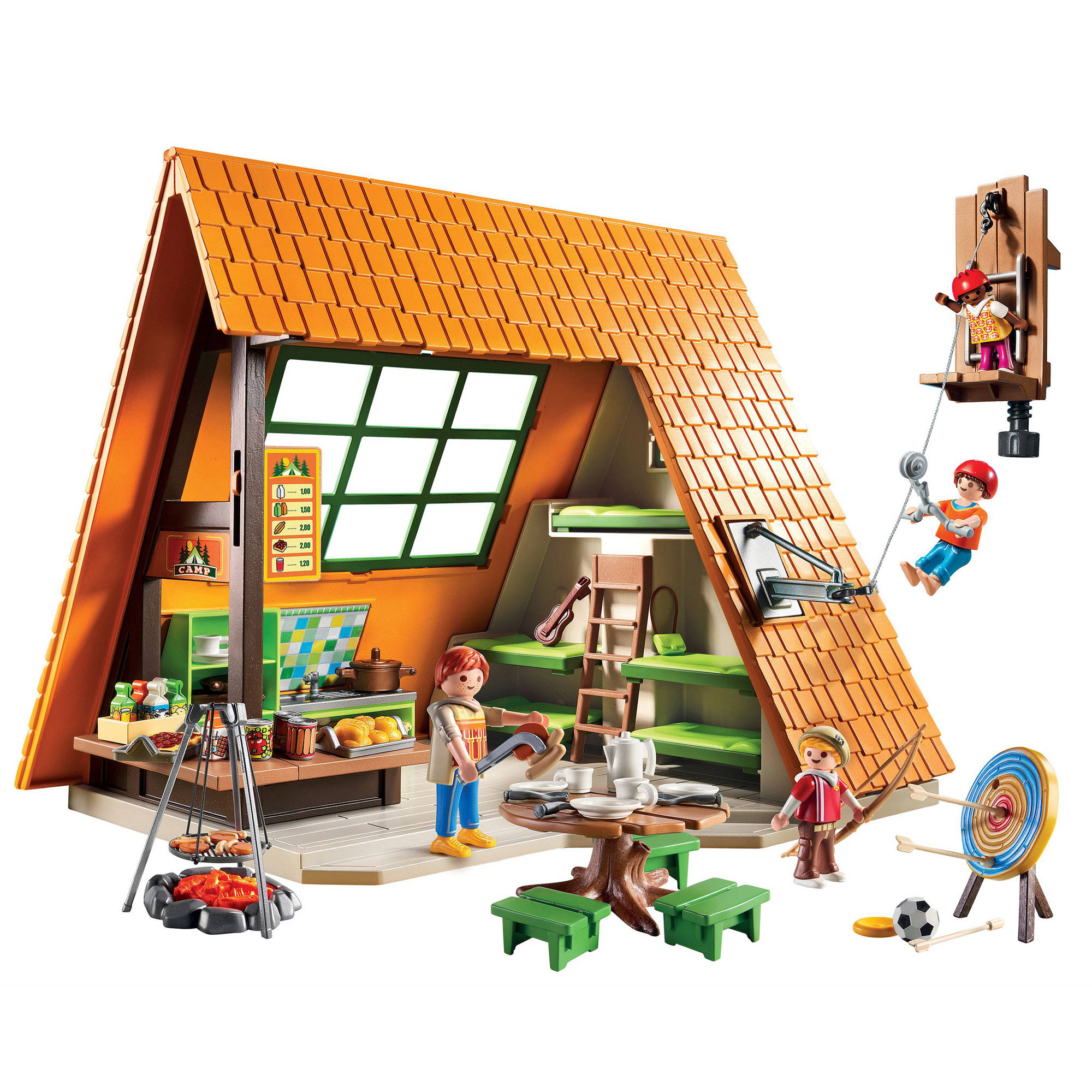Playmobil Camping Lodge Image 2 of 2