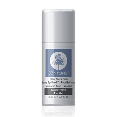 OZNaturals Eye Gel - Eye Cream For Dark Circles, Puffiness, Wrinkles - This Anti Wrinkle Eye Gel Was Voted ALLURE MAGAZINE'S Best In Beauty - The Most Effective Anti Aging Eye Cream