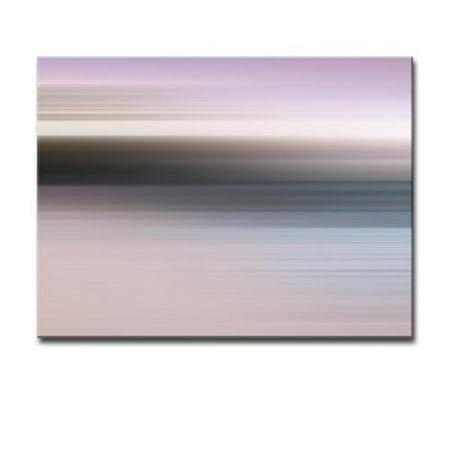 Ready2HangArt 'Blur Stripes XLII' Canvas Wall Art 12 in. High x 16 in. Wide