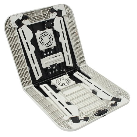 Folding Laptop Notebook Table Stand Tray Laptop Tray Desk With USB Cooling Fans For Sofa Bed Carpet Lawn - image 6 de 10