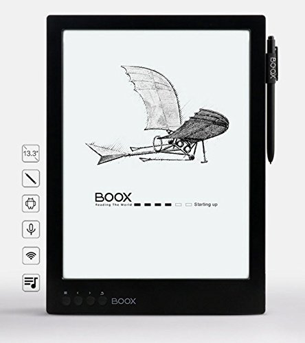 "Onyx Systems BOOX MAX Carta 13.3"" E Ink Pearl Display E-b..."