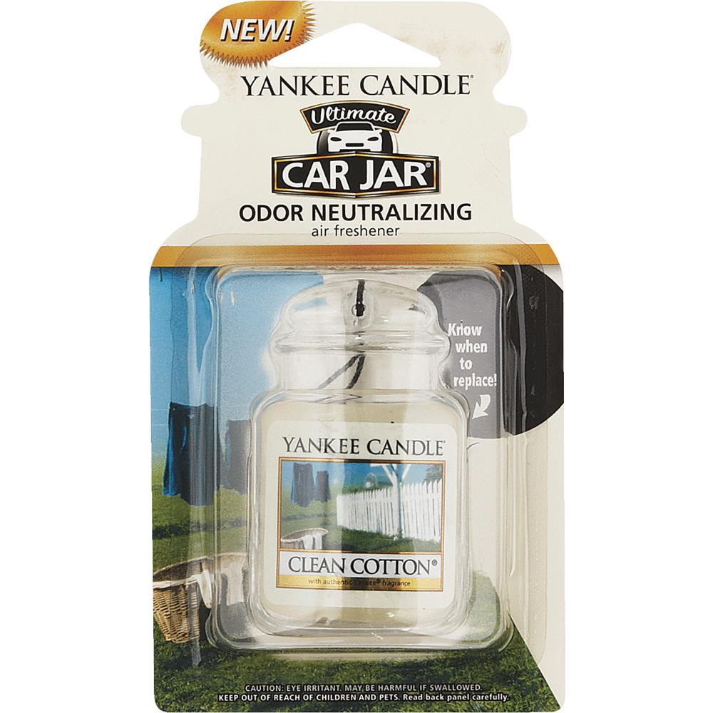 Yankee Candle Co Cln Cotton Car Jar Ultmt 1220878