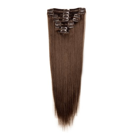 FLORATA Soft Human Hair Extensions 20