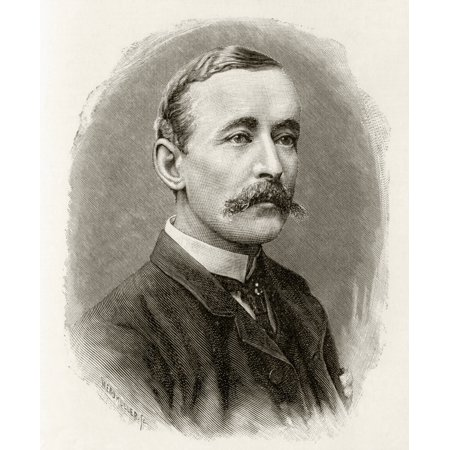 James Sligo Jameson1856 To 1888 Naturalist Artist And Explorer Member Of Sir Henry Morton Stanleys Emin Pasha Relief Expedition In Africa 1886 To 1889 From In Darkest Africa By Henry M Stanley Publish