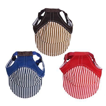 New Big Pet Dog Puppy Cat Summer Baseball Visor Hat Cap Outdoor Sunbonnet L Size