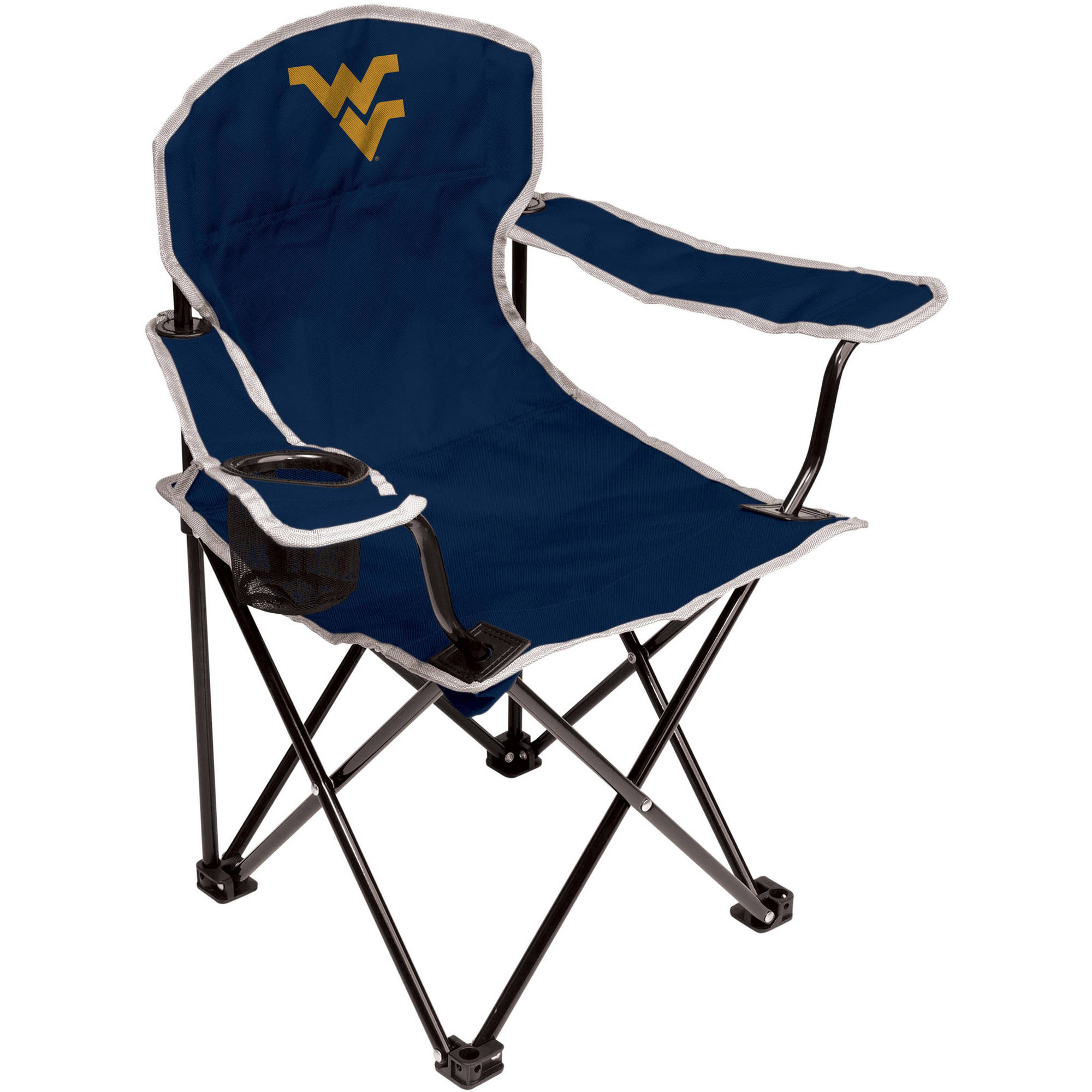 NCAA West Virginia Mountaineers Youth Size Tailgate Chair from Coleman by Rawlings
