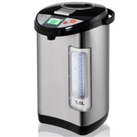 Costway 5-Liter LCD Water Boiler and Warmer Electric Hot Pot Kettle Hot Water Dispenser