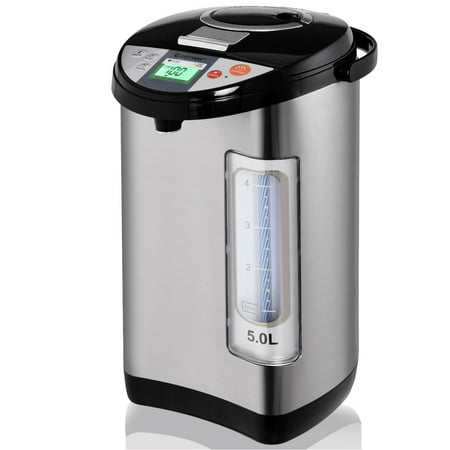 - Costway 5-Liter LCD Water Boiler and Warmer Electric Hot Pot Kettle Hot Water Dispenser