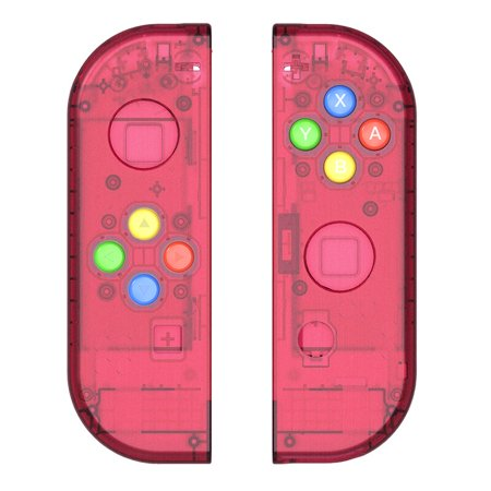 Replacement Housing Shell Case for Nintendo Switch NS Controller Joy-Con game console switch shell (Only Joy con shell Red)