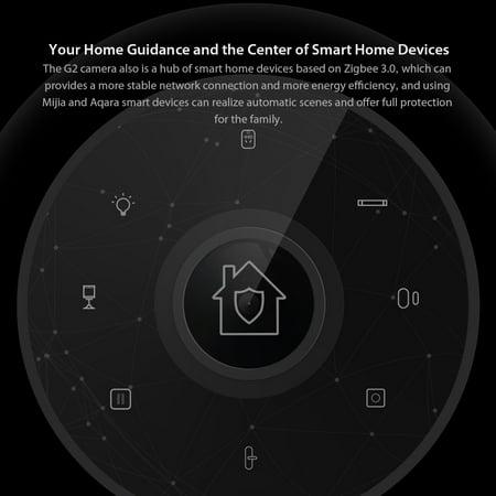 Xiaomi Mijia Aqara Smart Camera G2 1080P Gateway Edition Zigbee Linkage  WiFi Wireless APP Control Camera Hub Mi Smart Home Devices