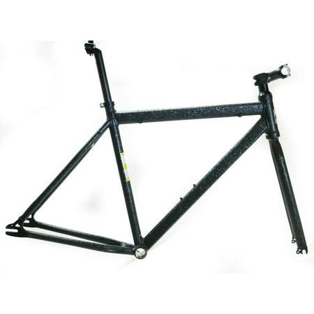 Fixie Fixed Gear Single - EVO Slay Sm 52cm Single Speed Fixie Fixed Gear 700c Road Track Bike Frame NEW