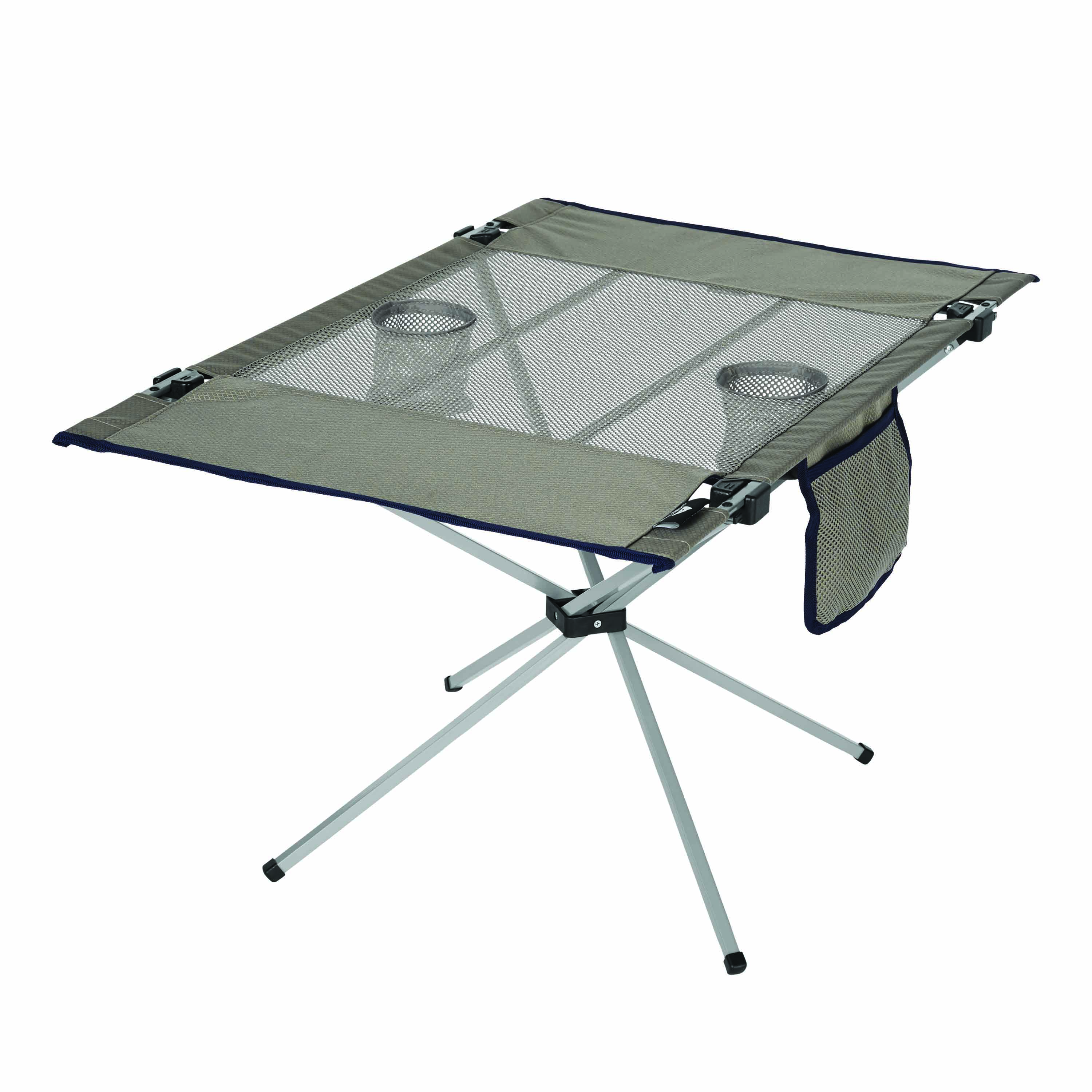 OZARK TRAIL PORTABLE LARGE SIDE TABLE