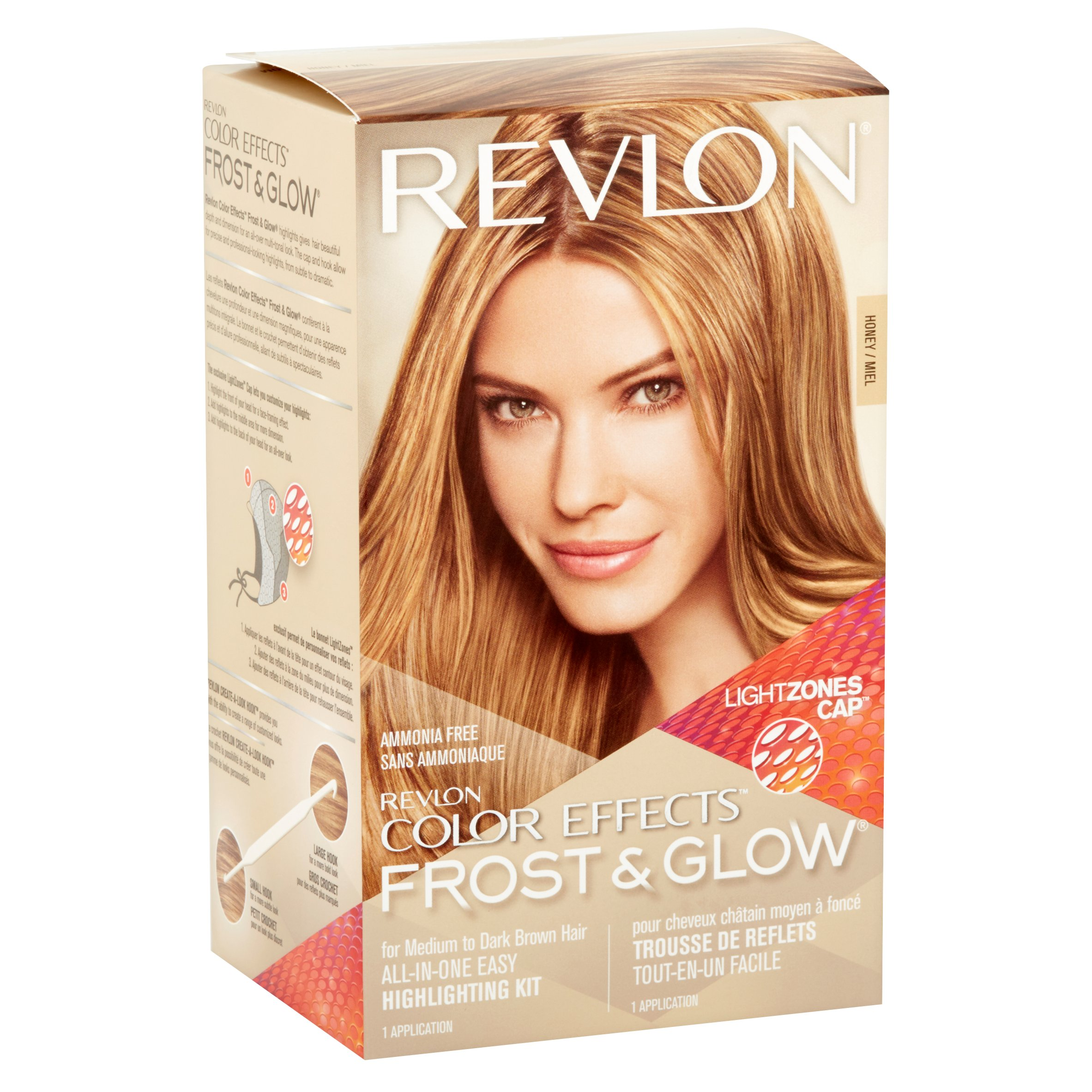 Revlon Color Effects Frost Glow Hair Highlighting Kit Honey