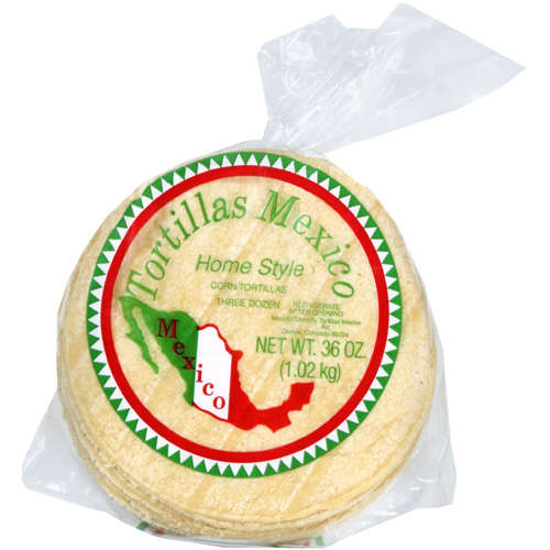 Tortillas Mexico: White Corn Tortillas, 36 ct