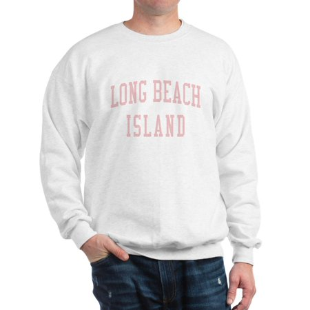 CafePress - Long Beach Island New Jersey NJ Pink - Crew Neck Sweatshirt ()