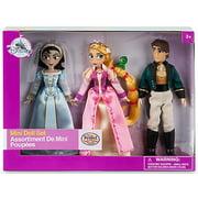 Disney Tangled Rapunzel, Cassandra & Eugene (Flynn) Mini Doll Set