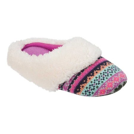 Dearfoams Holiday Moccasin Slipper(Girls') -Black/Red Genuine For Sale 5fgyZ