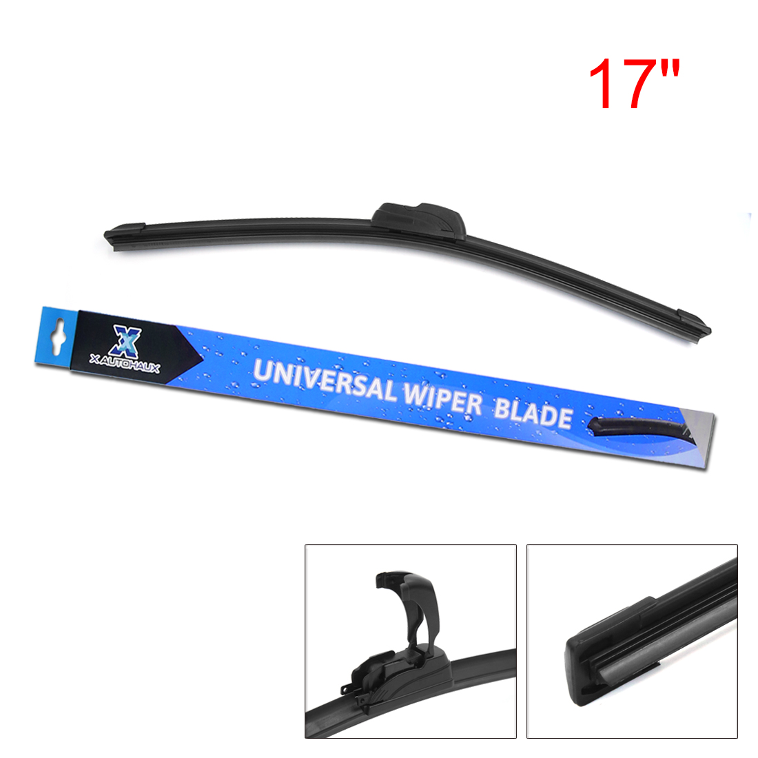 X AUTOHAUX J Hook Front Windshield Wiper Blade (pack of 1)
