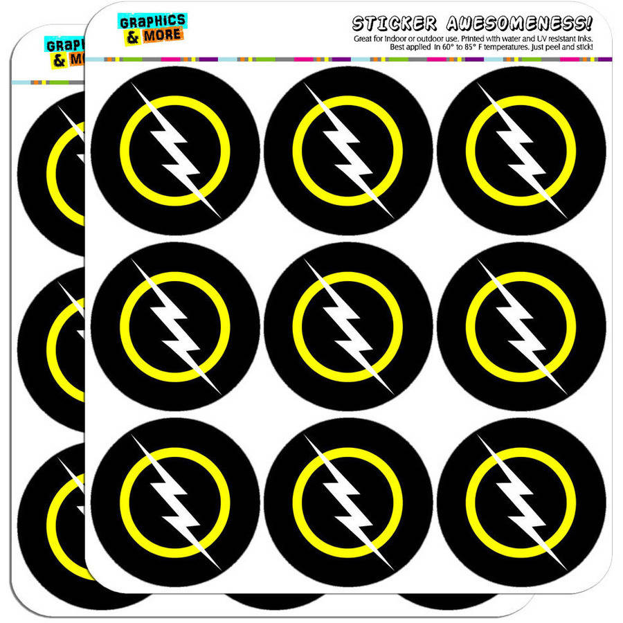 "White Lightning Bolt 18 2"" Planner Calendar Scrapbooking Crafting Stickers"
