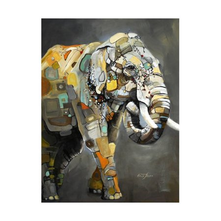 Asian Elephant Print Wall Art By Britt Freda