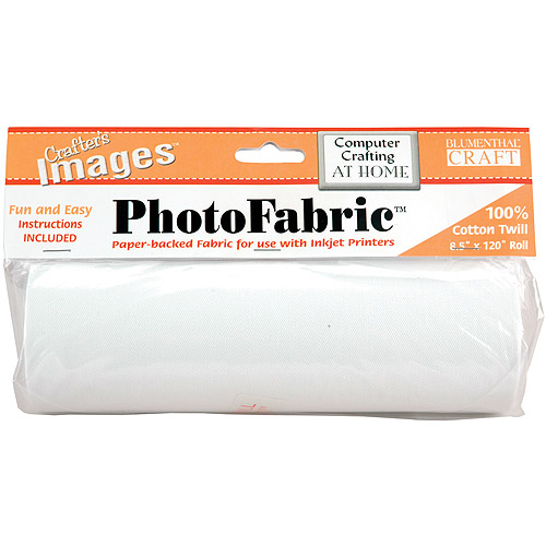 Crafter's Images PhotoFabric 100% Cotton Twill