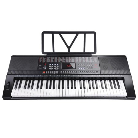 This Is Halloween Piano Music Easy (61 Key 110v Full Size Electronic Piano Music Electric Keyboard LCD Display USB Input MP3)