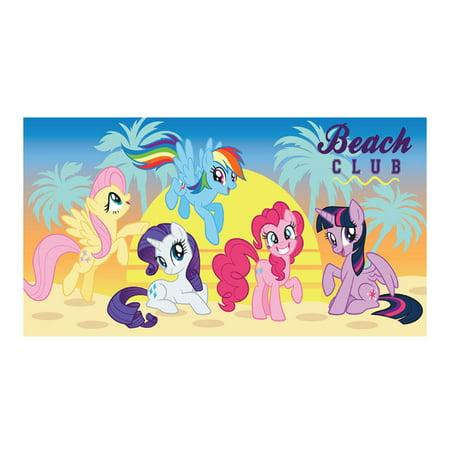 My Little Pony Hooded Bath Towel Wrap Beach Bath Towels by Hasbro