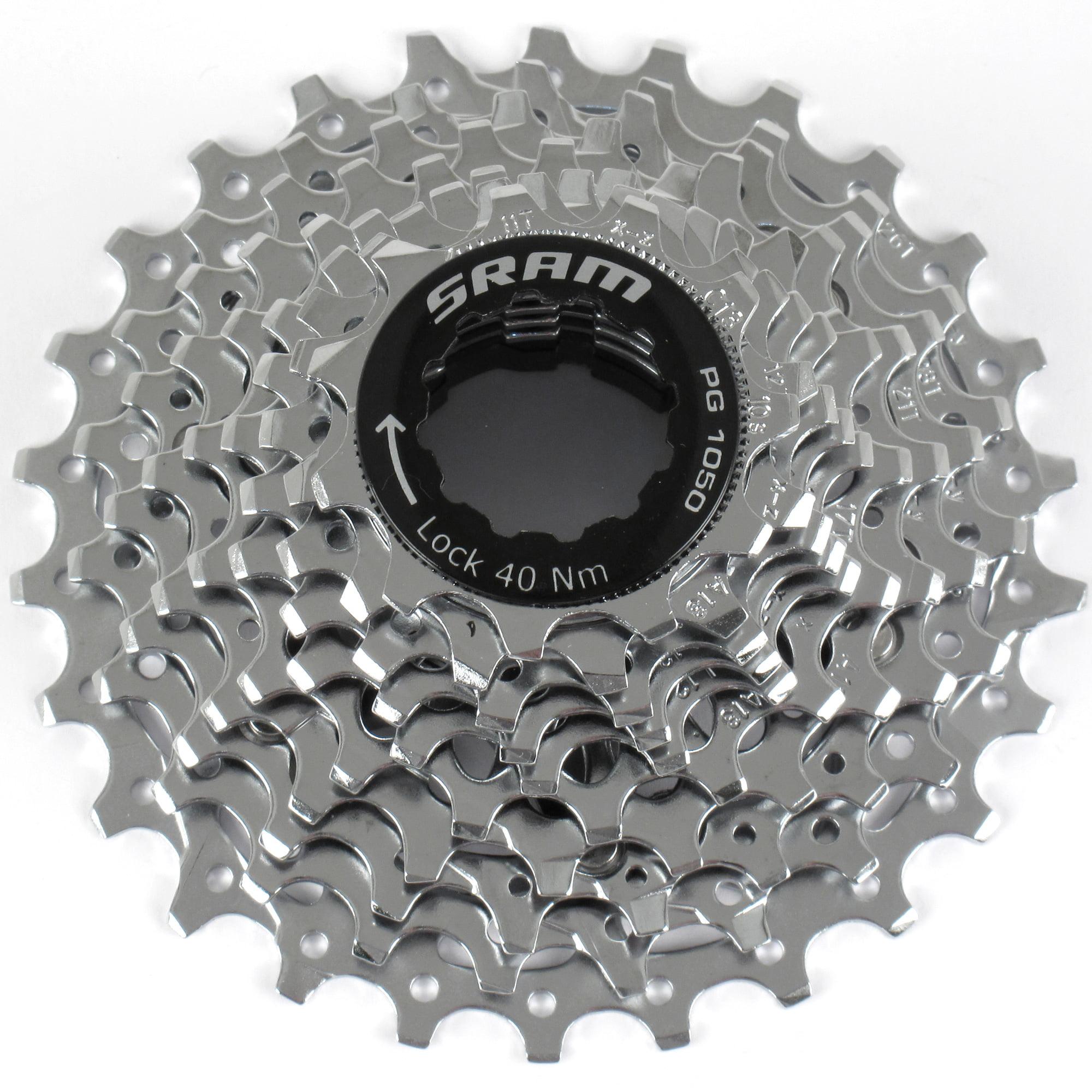 SRAM PG-1050 11-26 10-Speed Road MTB Bike Cassette 11-26T fits SRAM /& Shimano